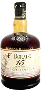 El Dorado Rum 15 Year Old 750ml - Case of 6